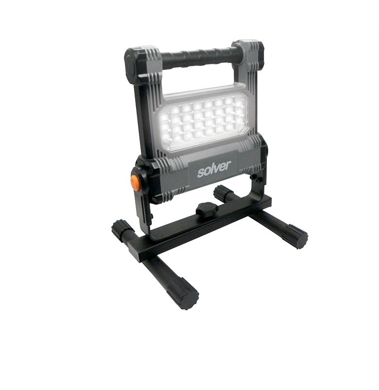 Refletor Portátil Pro Recarregável LED SLP-501