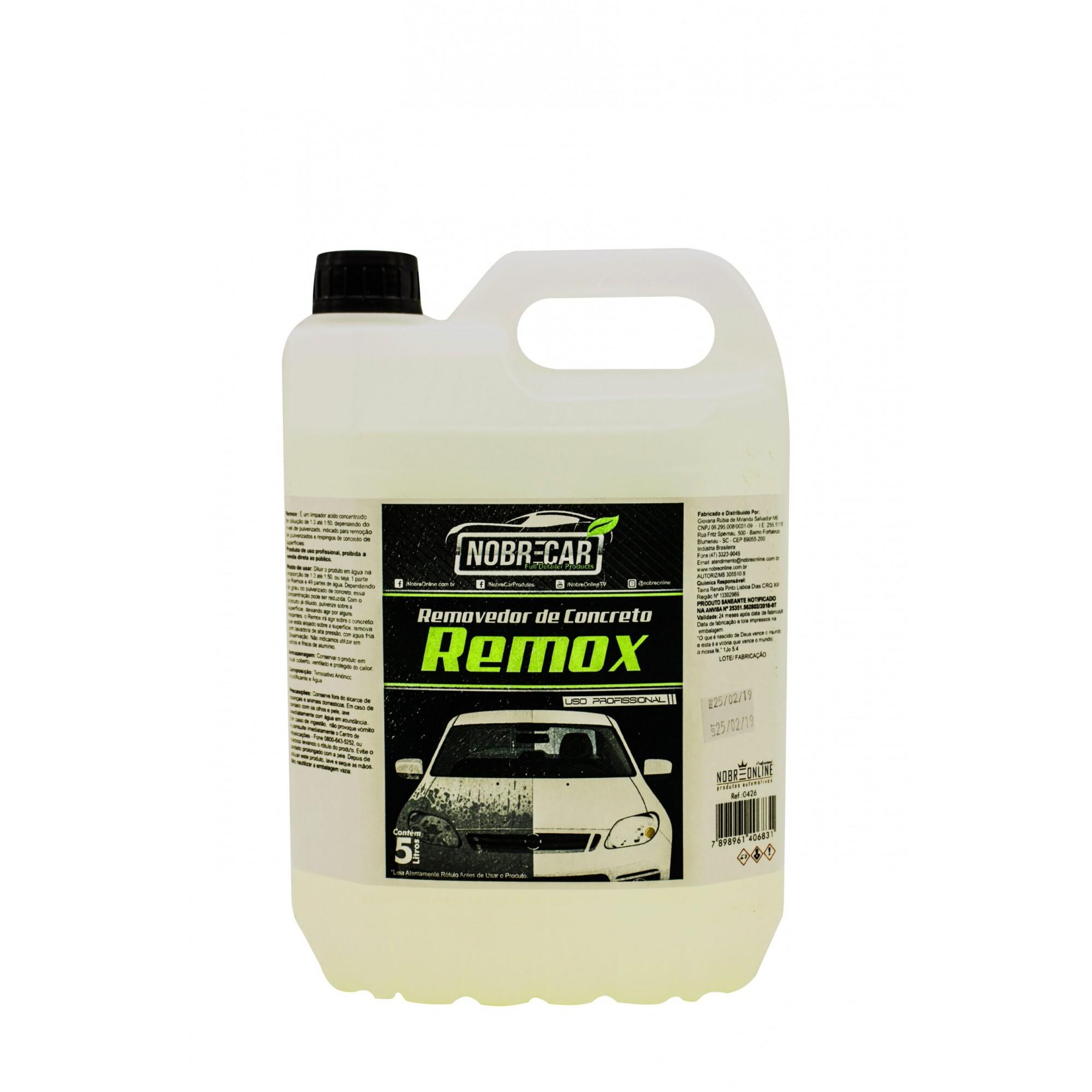 Remox 5L - Removedor de Concreto (Nobre Car)