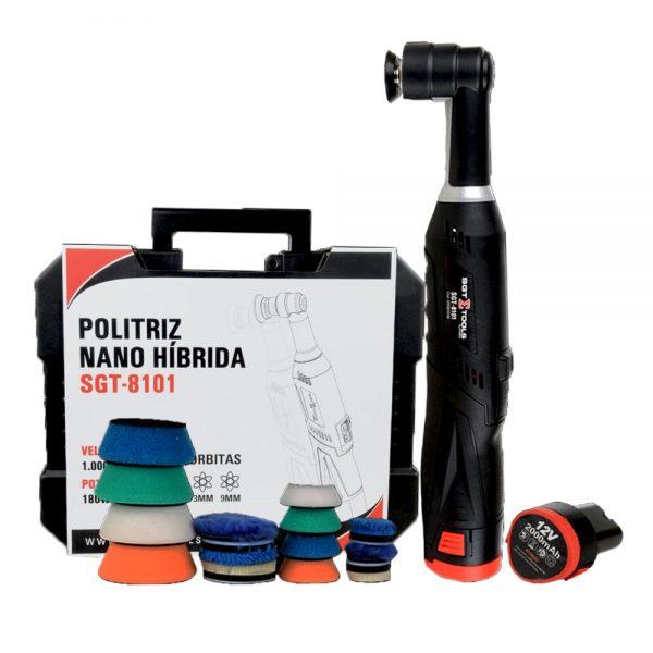 Sigma Tools Politriz Nano Híbrida Recarregável à Bateria (180W - 12V)