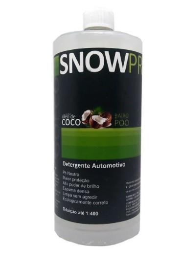 Snow Pro - Shampoo Automotivo com Óleo de Coco 1L - Go Eco Wash