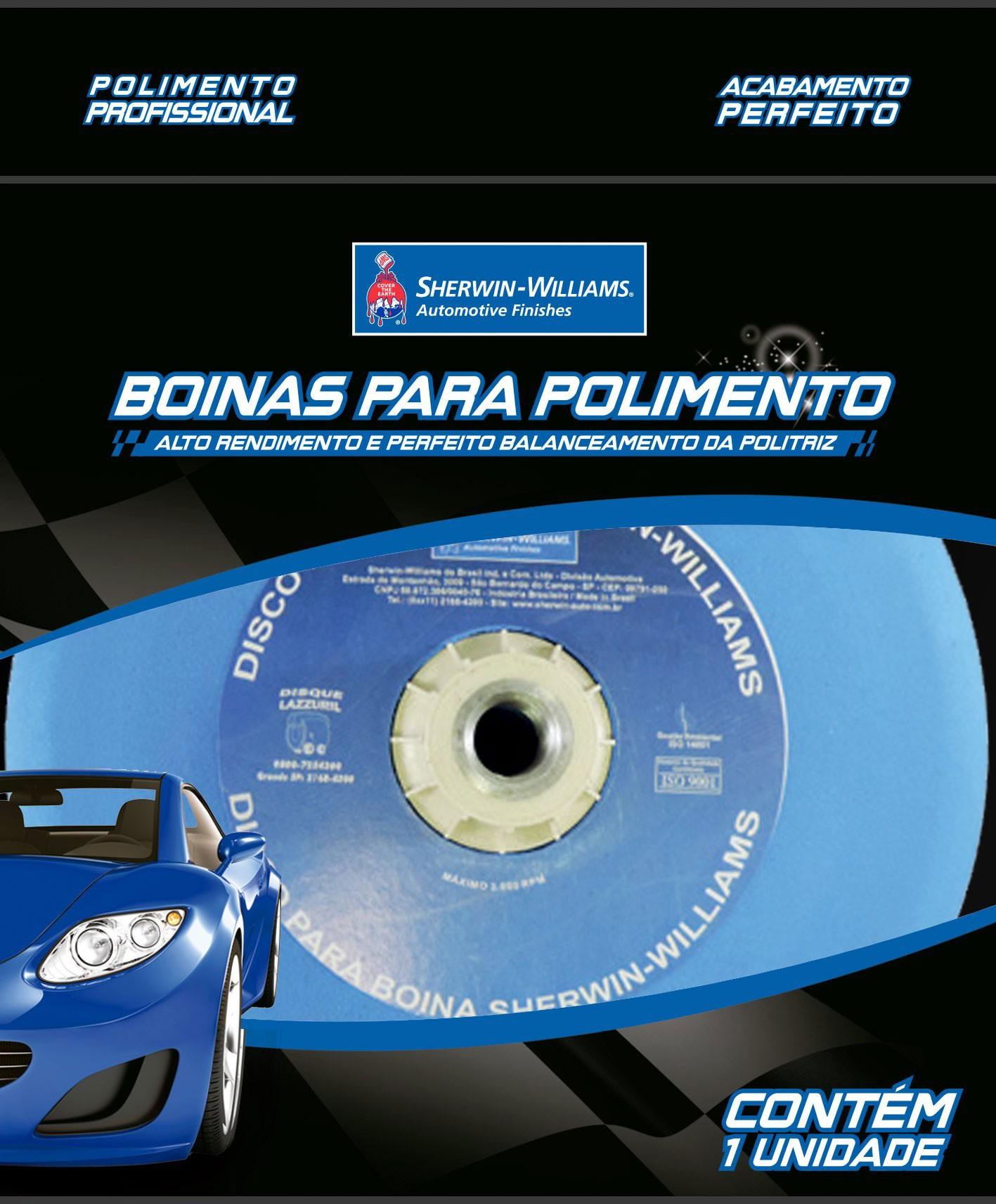 """Suporte para Politriz Rotativa 5"""" (Rosca 5/8"""
