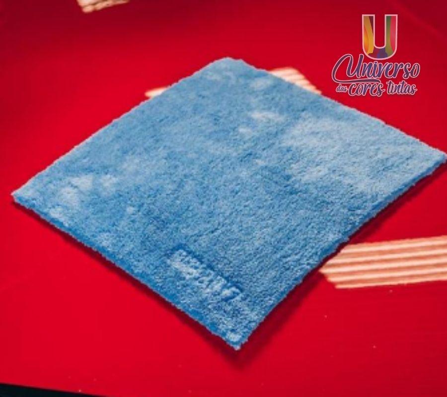 Toalha de Microfibra 40X40 Azul 500GSM Dub Boyz
