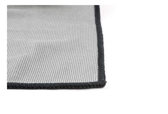 Toalha de Microfibra para Vidro Cinza 40x40 290GSM SGCB
