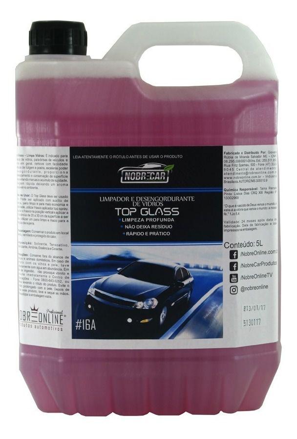 Top Glass 5 Litros - Limpa Vidros  (Nobre Car)