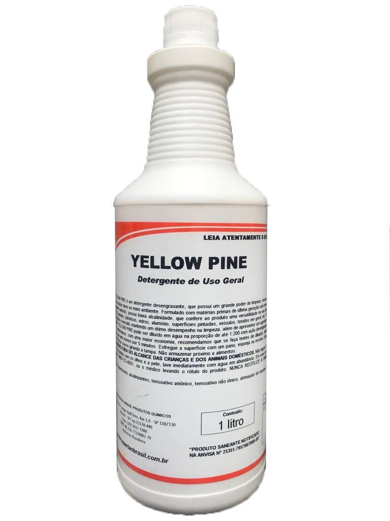 Yellow Pine - Detergente Desengraxante Spartan - 1 Litro