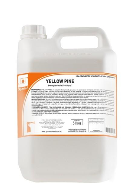 Yellow Pine - Detergente Desengraxante Spartan - 5 Litros