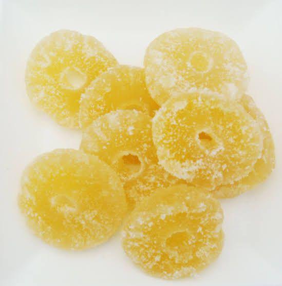 Abacaxi Cristalizado 100g
