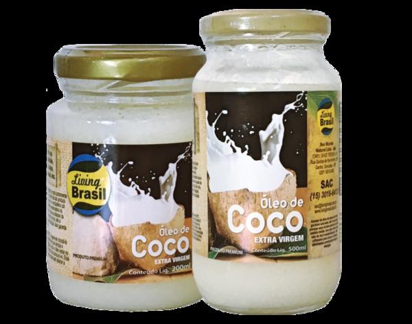 Oleo De Coco Extra Virgem 500G Living Brasil