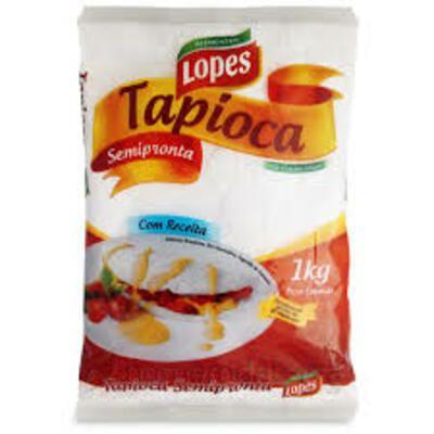 TAPIOCA HIDRATADA - LOPES  1Kg