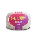 LINHA CÍRCULO AMIGURUMI COR 8176 OFF-WHITE