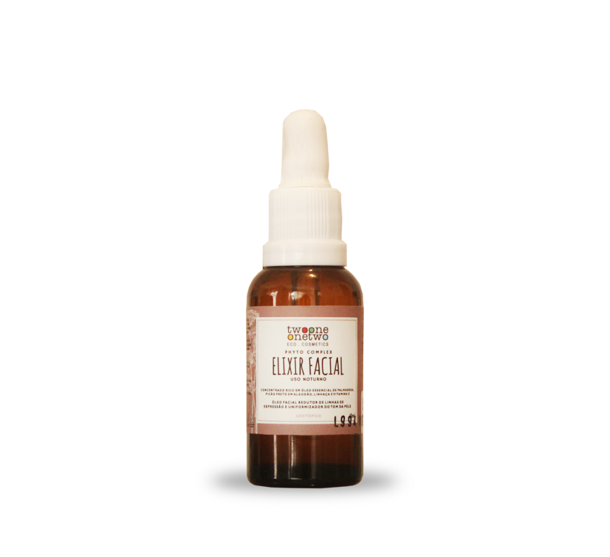 ELIXIR FACIAL NOTURNO NATURAL VEGANO REVINAGE - TWOONE ONETWO 30ML
