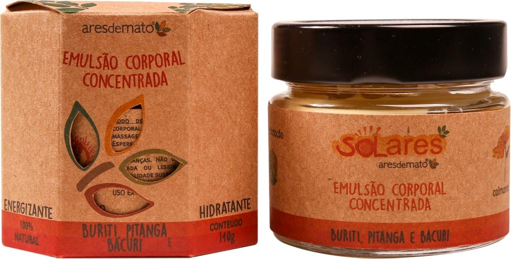 EMULSÃO CORPORAL CONCENTRADA SOLARES 140G - ARES DE MATO