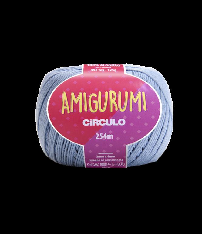 LINHA CÍRCULO AMIGURUMI COR 2927 AQUÁRIO (AZULADO)