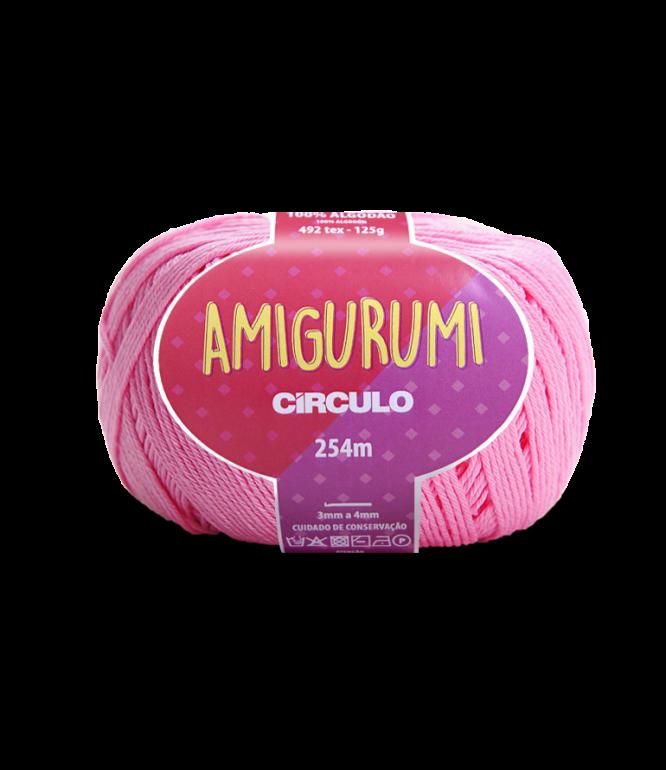 LINHA CÍRCULO AMIGURUMI COR 3131 CHICLETE (ROSA)