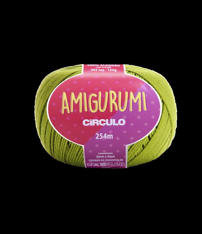 LINHA CÍRCULO AMIGURUMI COR 5800 PISTACHE (VERDE)