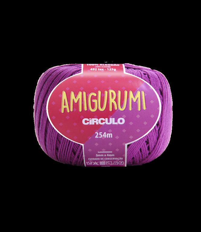 LINHA CÍRCULO AMIGURUMI COR 6614 ALFAZEMA (ROXO)