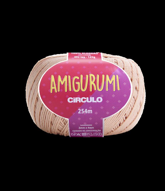 LINHA CÍRCULO AMIGURUMI COR 7563 CHANTILY