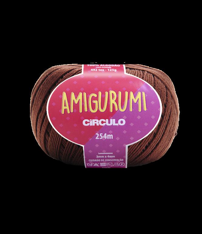 LINHA CÍRCULO AMIGURUMI COR 7569 BRIGADEIRO