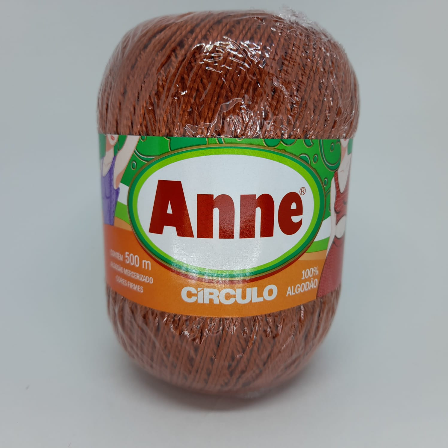 LINHA CÍRCULO ANNE COR 7529 TERRACOTA
