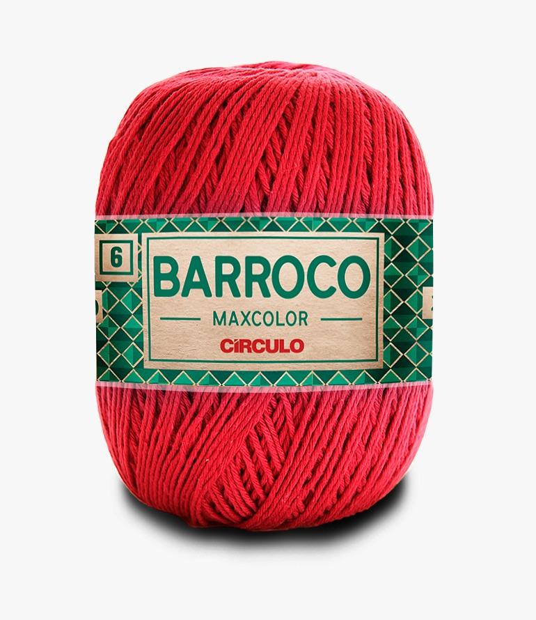 LINHA CÍRCULO BARROCO MAXCOLOR 4 200G COR 3402 VERMELHO CÍRCULO