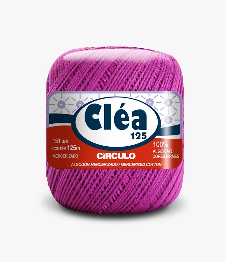 LINHA CÍRCULO CLEA 125 COR 6614 ALFAZEMA (ROXA)