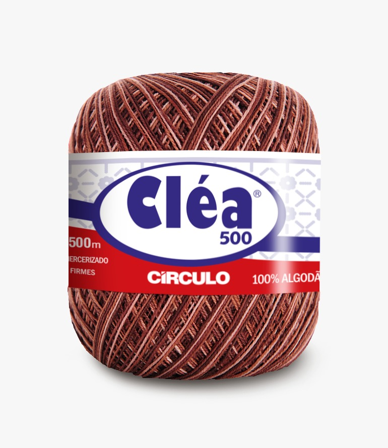 LINHA CÍRCULO CLÉA 500 COR 9601 CAPUCCINO