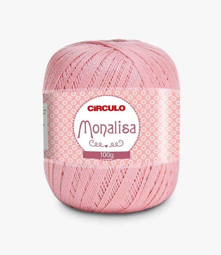 LINHA CÍRCULO MONALISA 100g COR 3227 ROSA ANTIGO