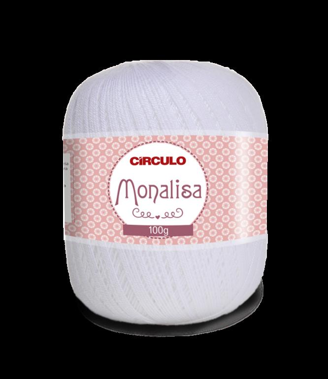 LINHA CÍRCULO MONALISA 100g COR 8001 BRANCO