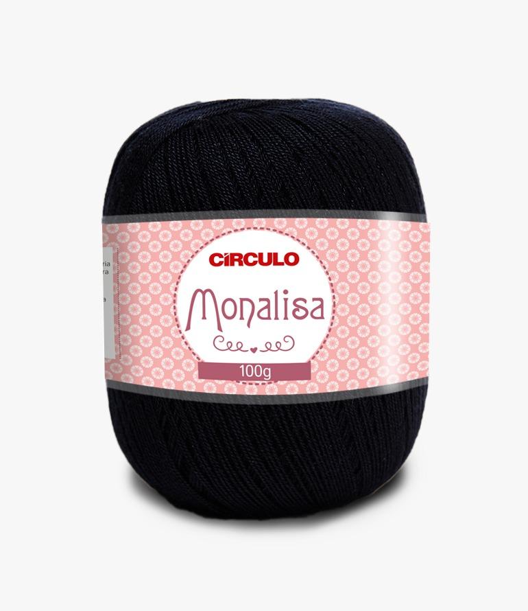 LINHA CÍRCULO MONALISA 100g COR 8990 PRETO