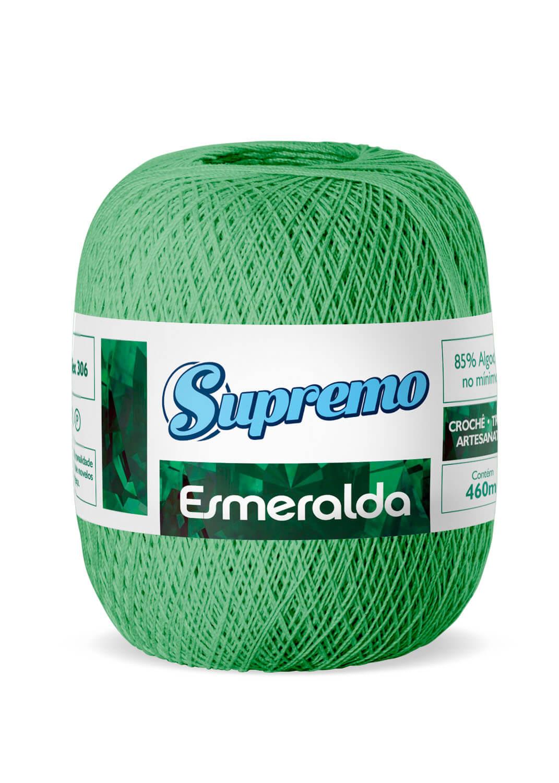 LINHA SUPREMO ESMERALDA 460m COR 08 VERDE BANDEIRA