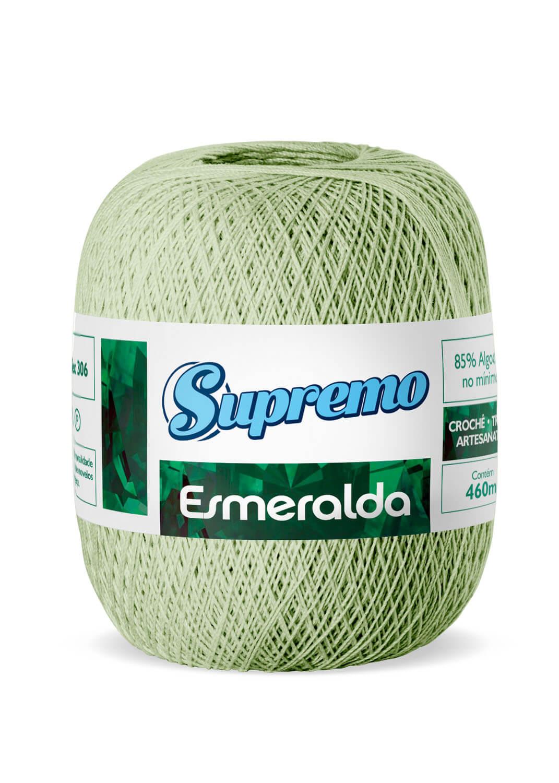 LINHA SUPREMO ESMERALDA 460m COR 09 VERDE ABACATE