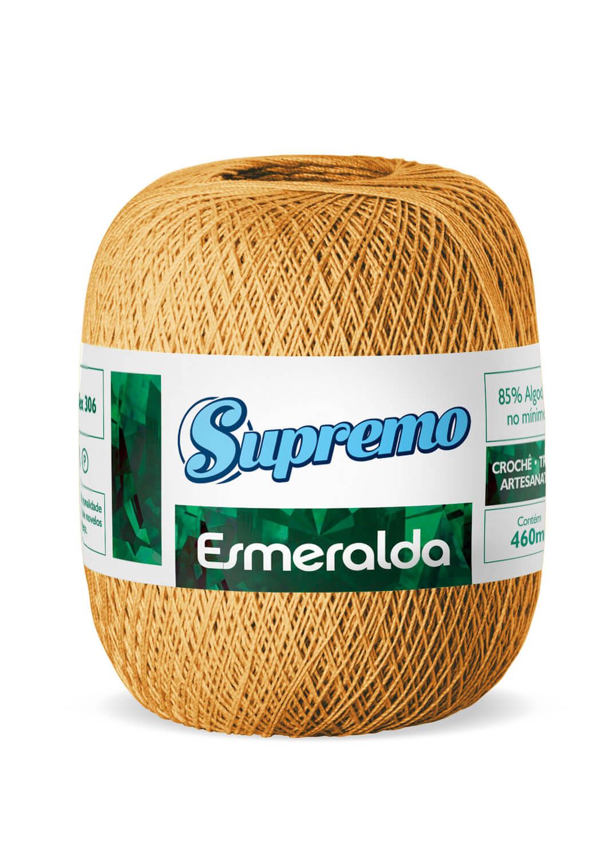 LINHA SUPREMO ESMERALDA 460m COR 37 AMARELO OURO