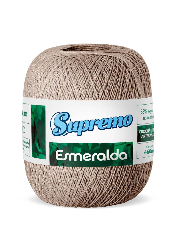 LINHA SUPREMO ESMERALDA 460m COR 49 CARAMELO