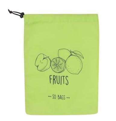 SO BAGS FRUITS (SACOLA ECOLÓGICA PARA CONSERVAR ALIMENTOS)