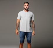 Camiseta Mescla Claro