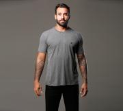 Camiseta Mescla Escuro