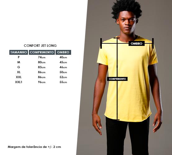 Amarela Long // estampa frente e costas