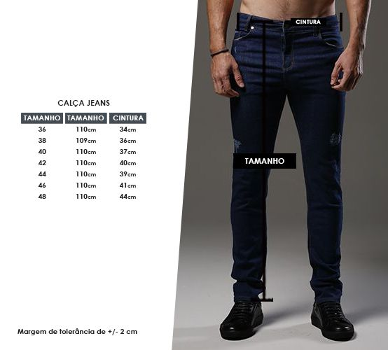 Calça Jeans Londres