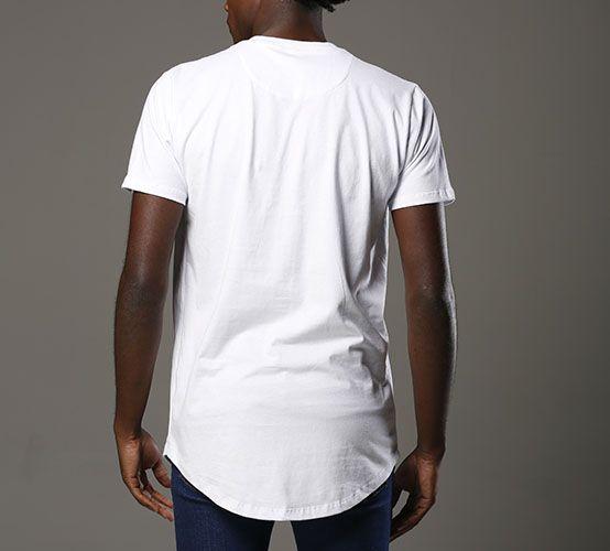 Camiseta Branca Long
