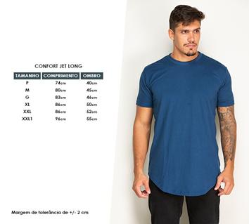 Camiseta Marinho Long