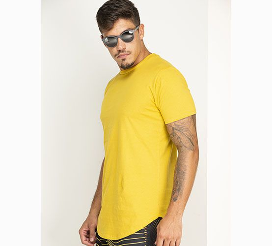 Camiseta Mostarda Long