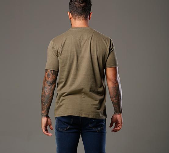 Camiseta Verde Cana