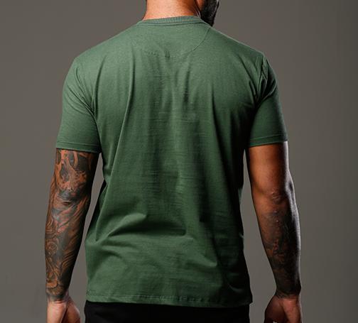 Camiseta Verde Musgo