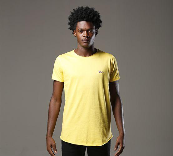 Camiseta Oxygene Amarela Long