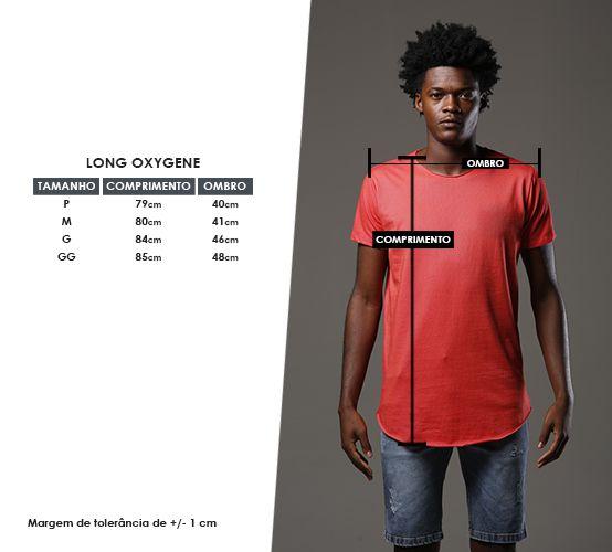 Camiseta Oxygene Vermelha Long