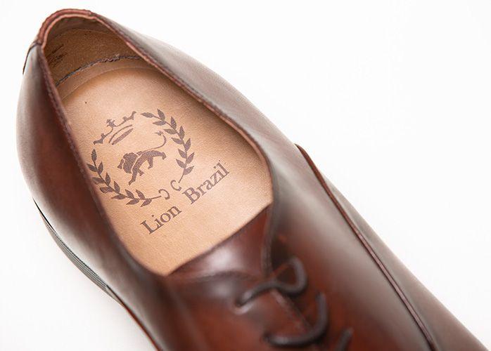 Sapato  Oxford Tabaco