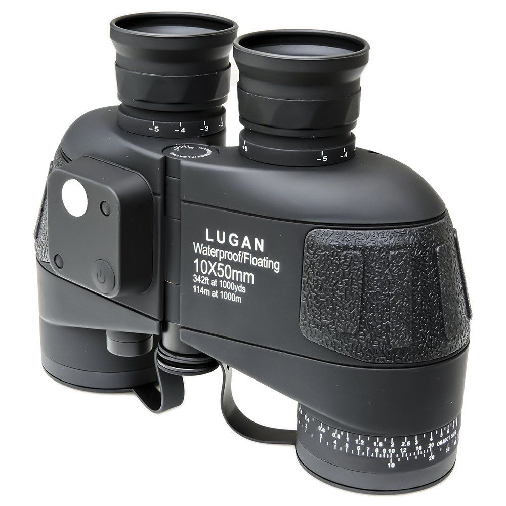Binóculo Lugan 10x50 Ocean Extreme AX28 com Telêmetro e Bússola