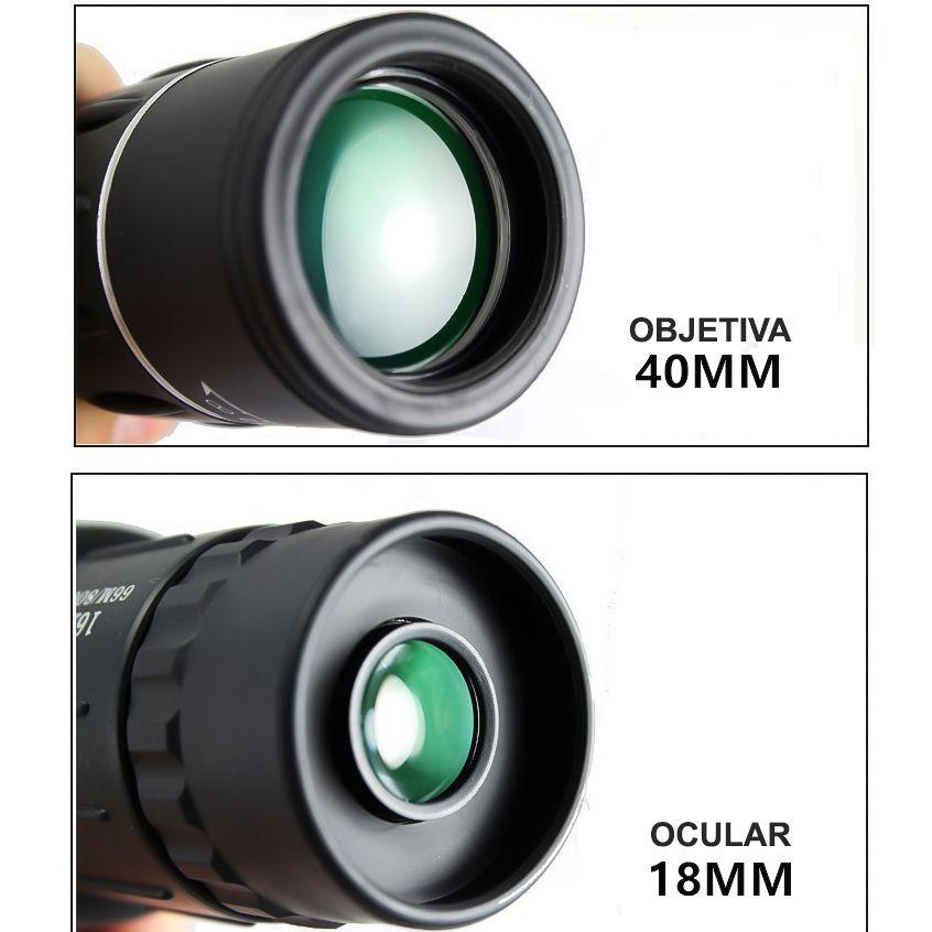 PONTA DE ESTOQUE - Monóculo 16x52 DCF ORIGINAL PowerView Extra Bright