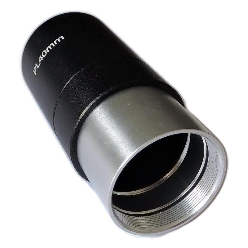 Ocular Super Plossl PL 40mm (Padrão de encaixe de 1,25 Polegadas)