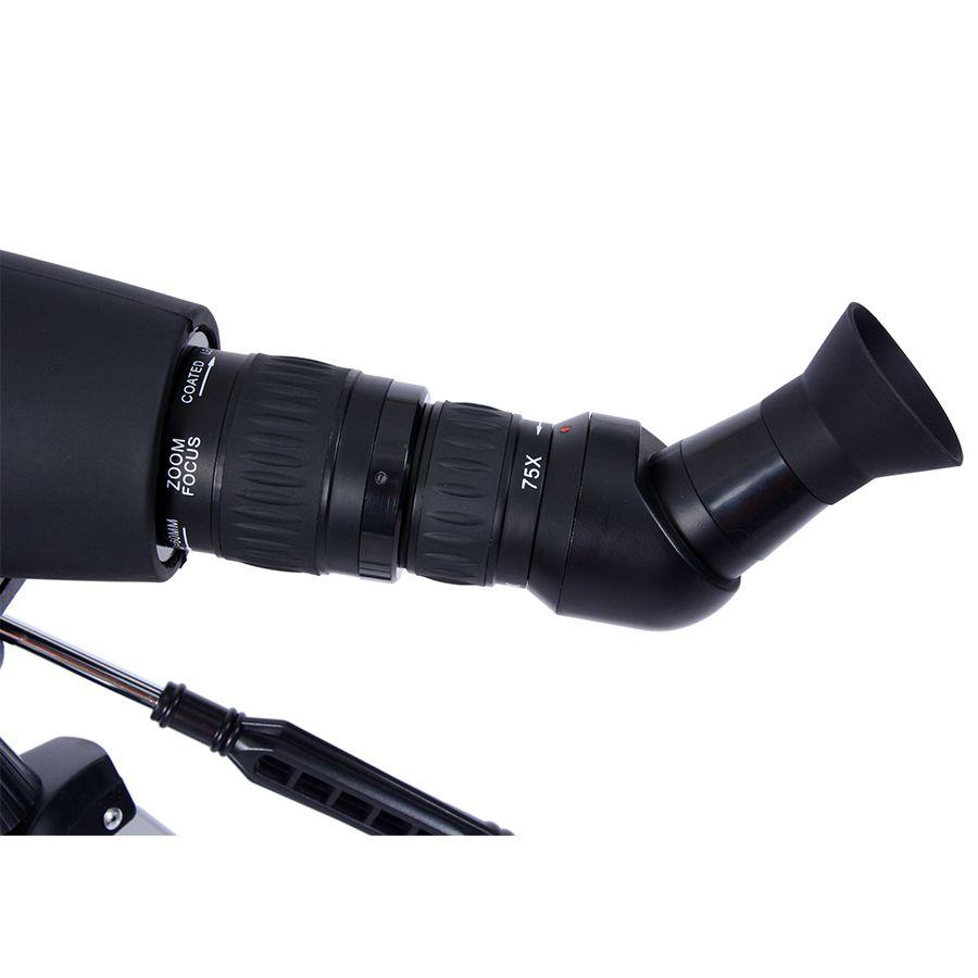 Luneta 60mm Skylife 15-75x60 TSN Blackwank com Tripé alumínio